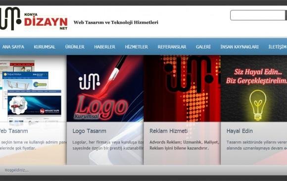 Konya Dizayn Web Tasarım Paketleri