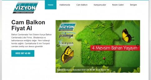 Konya Vizyon Cam Balkon