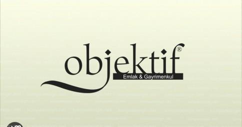 Objektif Emlak Logo
