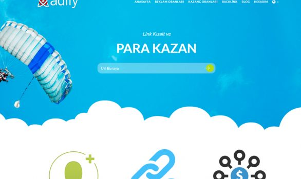 Adfly Logo Çalışması